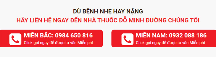 số điện thoại nhà thuốc Đỗ Minh Đường