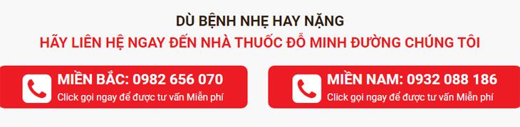 Số điện thoại phụ khoa Đỗ Minh Đường