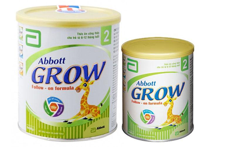 Khi trẻ bị táo bón mẹ cũng có thể tìm mua sữa Abbott Grow cho bé sử dụng để cải thiện