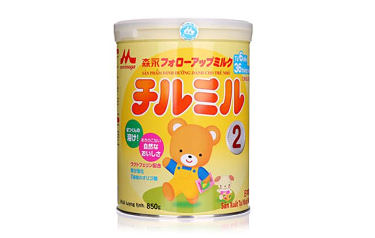 Sữa bột Morinaga của Nhật cũng được giới chuyên gia đánh giá rất cao về chất lượng