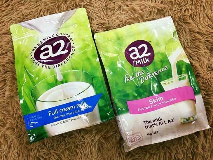 Sữa tăng chiều cao cho người lớn A2 tách béo