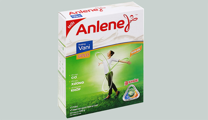 Sữa Anlene cho người từ 19 - 45 tuổi