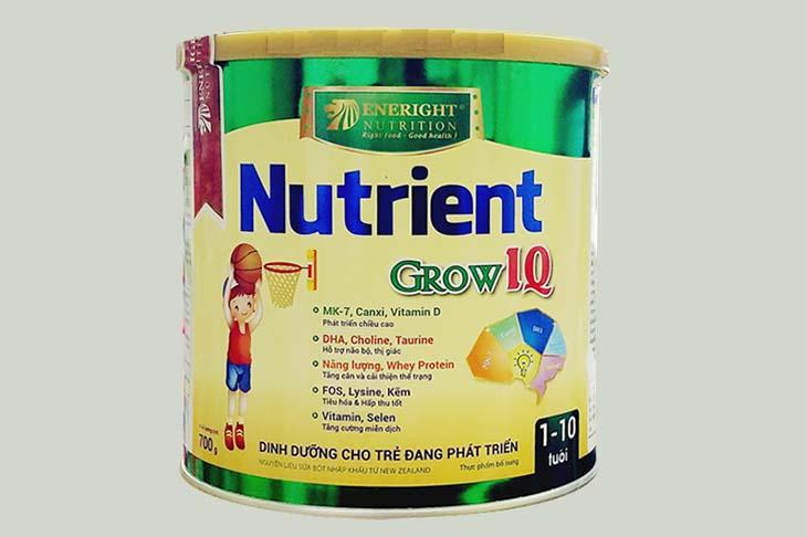 Sữa tăng chiều cao cho trẻ trên 10 tuổi Nutrient Grow IQ