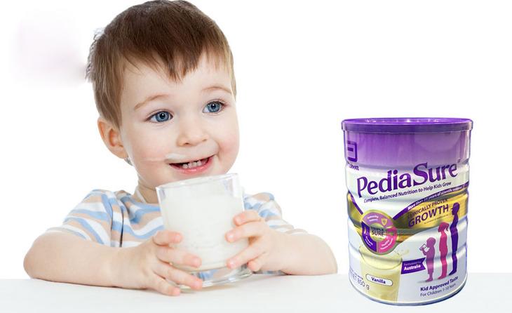 Pediasure tốt cho chiều cao và sự phát triển của trẻ