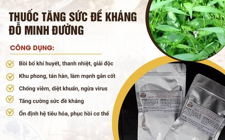 Thuốc tăng sức đề kháng Đỗ Minh