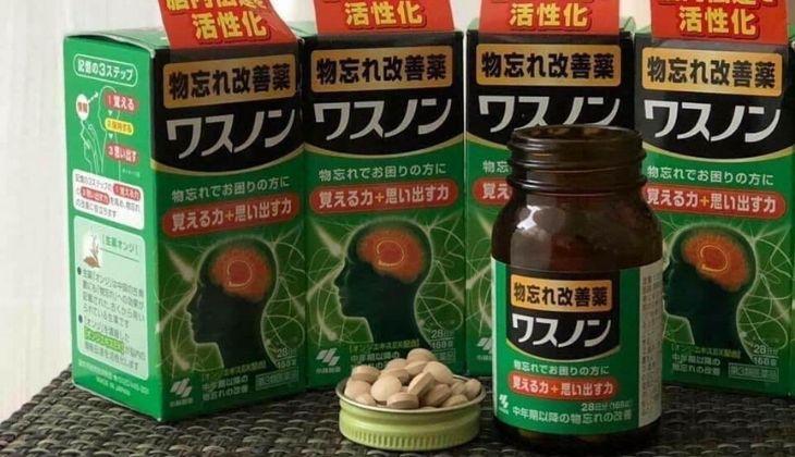 Thực phẩm bổ não của Nhật Kobayashi