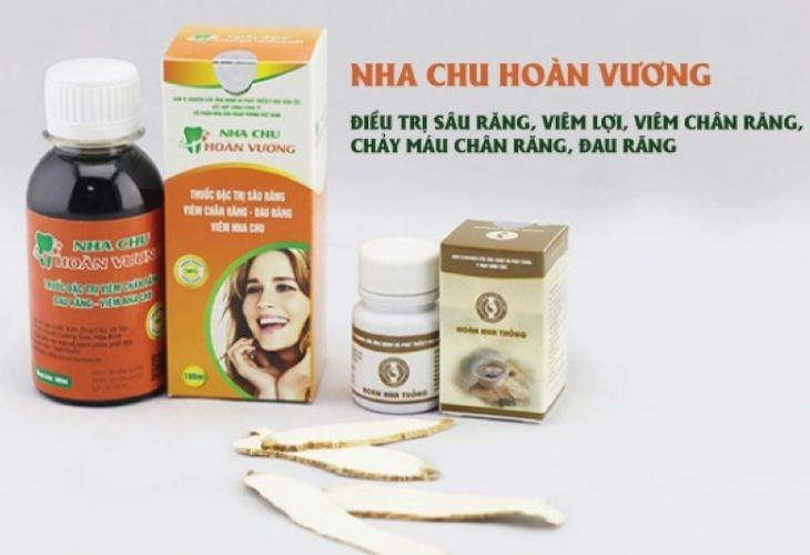 Thuốc chữa đau răng gia truyền Nha Chu Hoàn Vương