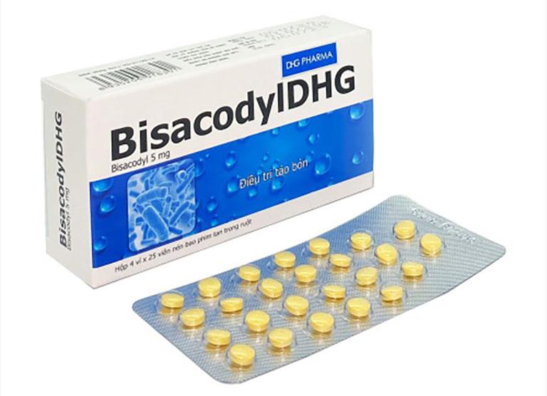 Bisacodyl cũng là một trong những loại thuốc điều trị táo bón rất tốt trên thị trường hiện nay