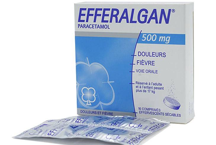 Efferalgan là thuốc có tác dụng giảm đau, hạ sốt