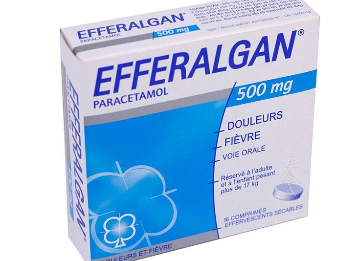Trong quá trình sử dụng viên sủi thuốc efferalgan nếu có triệu chứng bất thường nào thì hãy liên hệ với bác sĩ