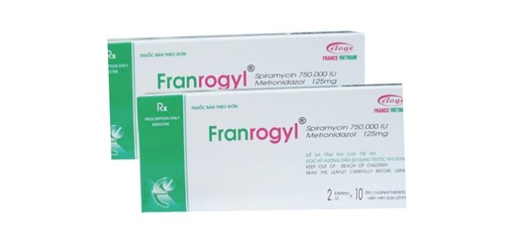 Thuốc Franrogyl giảm đau nhanh chóng cho trẻ bị viêm nha chu
