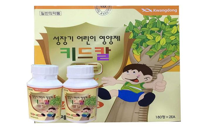 Thực phẩm chức năng hỗ trợ tăng trưởng chiều cao Kwangdong