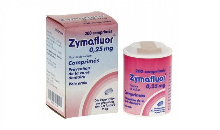 Sản phẩm hỗ trợ trị sâu răng cho bé Zymaflour 0,25mg chăm sóc răng miệng, phòng bệnh phát triển