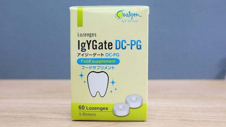 Thuốc trị sâu răng ở Nhật - IgYGate DC-PG phổ biến trên thị trường