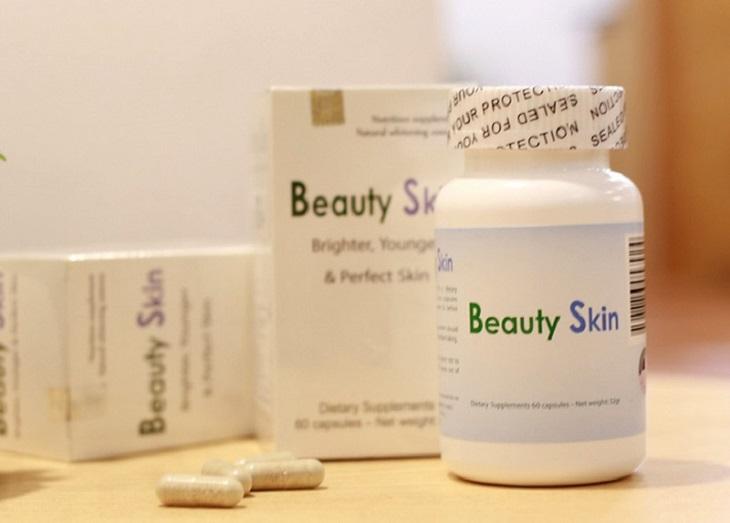 Viên uống trị tàn nhang Beauty Skin