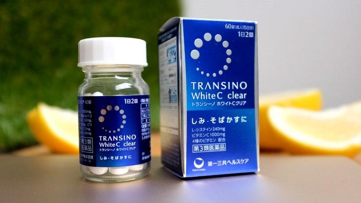 Viên uống Transino White C được rất nhiều chị em ưa chuộng
