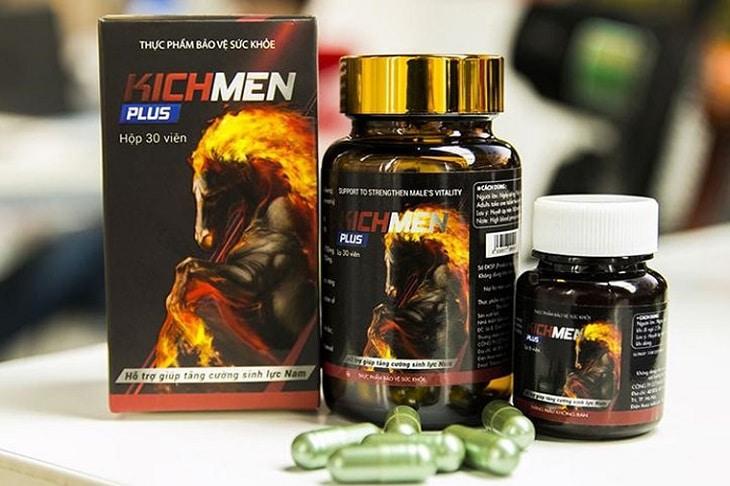 Kichmen Plus có thành phần được chiết xuất từ những dược liệu trong tự nhiên