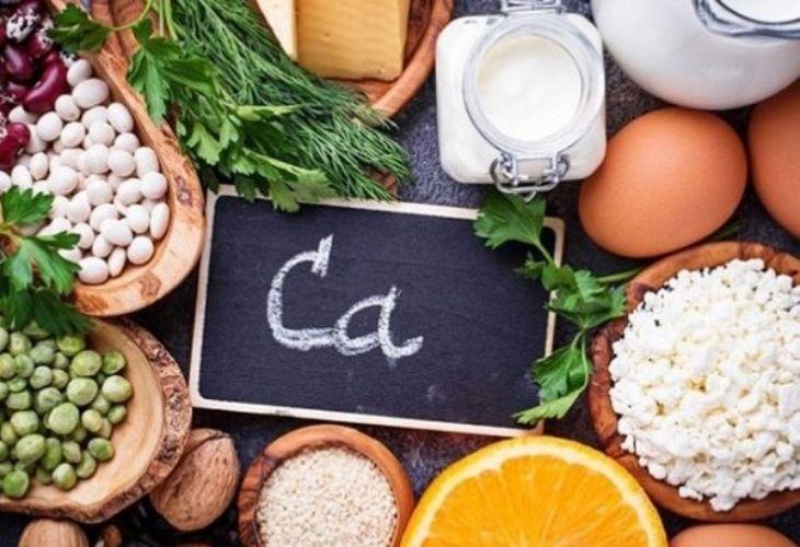 Bổ sung trong thực đơn hàng ngày các món ăn có chứa nhiều canxi