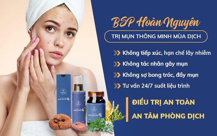 Viện Da liễu Hà Nội - Sài Gòn khuyến khích khách hàng áp dụng phác đồ tại nhà trong mùa dịch bệnh