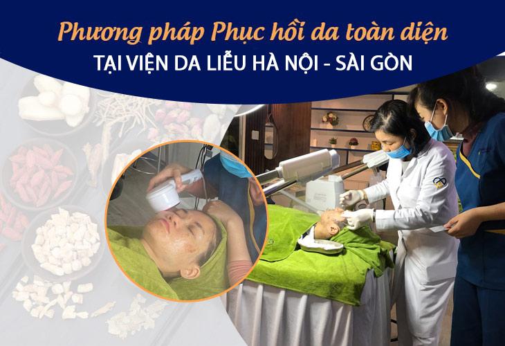 Giải pháp điều trị phục hồi da nhiễm Corticoid của Viện Da liễu Hà Nội - Sài Gòn được nhiều khách hàng tin dùng