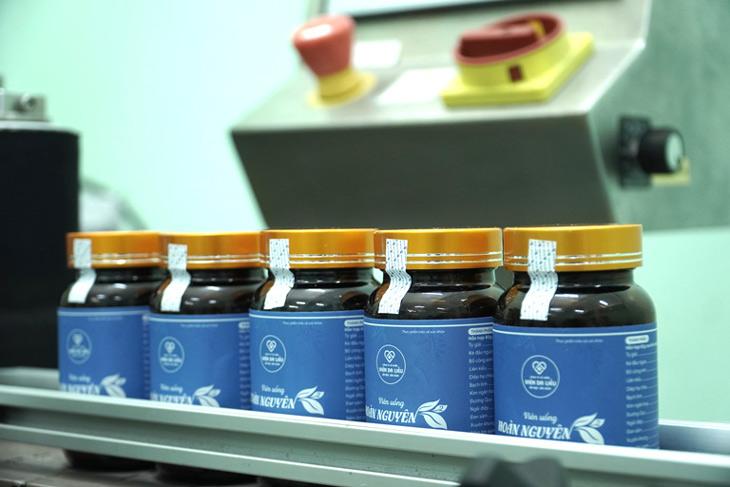 Hoàn Nguyên được sản xuất trên dây chuyền công nghệ hiện đại đảm bảo tốt về chất lượng