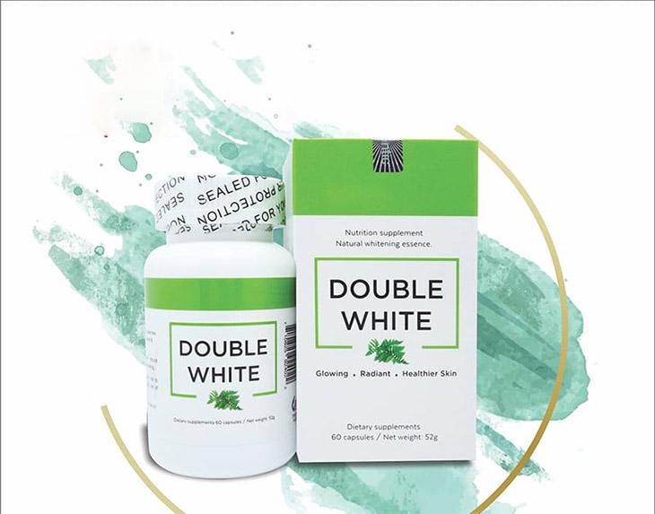 Viên uống trắng da của Mỹ Double White
