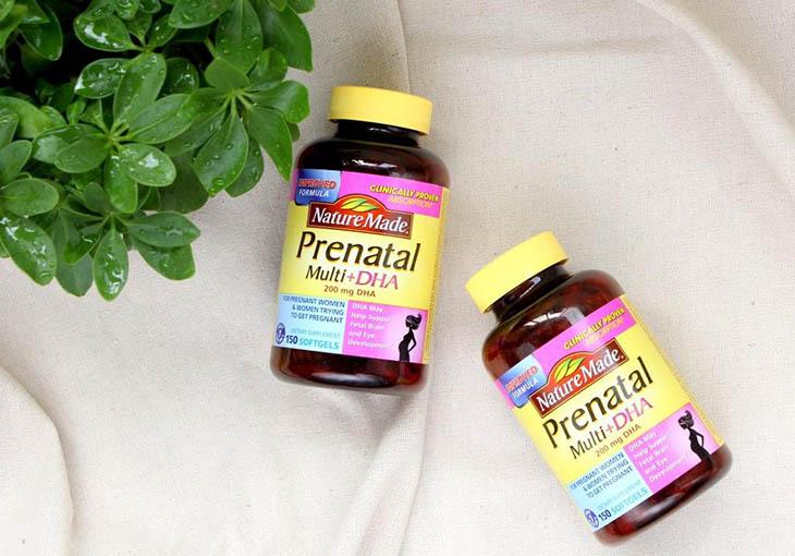 Vitamin cho bà bầu Nature Made Prenatal Multi DHA