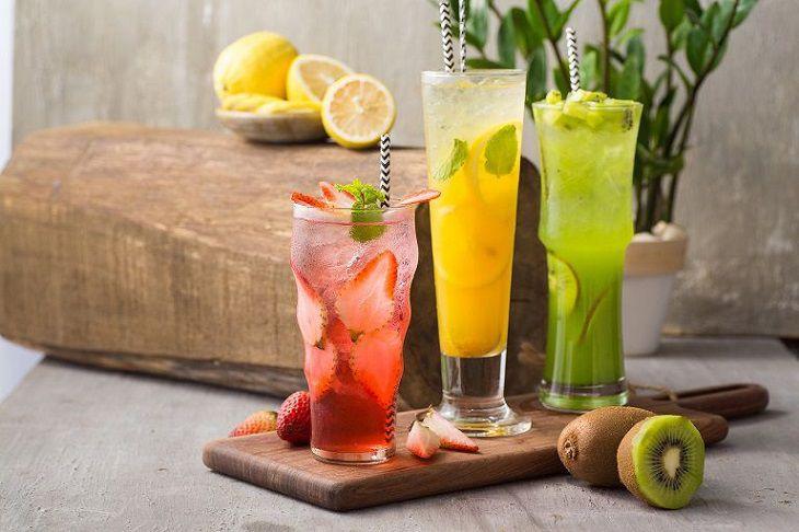 Hình ảnh trà hoa quả