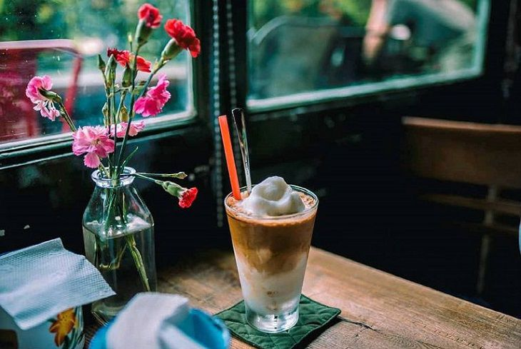 Latte cafe độc đáo