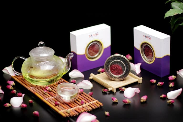Hình ảnh sản phẩm Saffron Vietfarm cung cấp ra thị trường