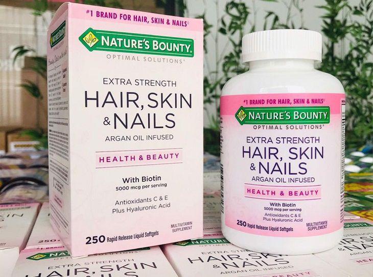 Giới thiệu Nature's Bounty Hair Skin And Nails
