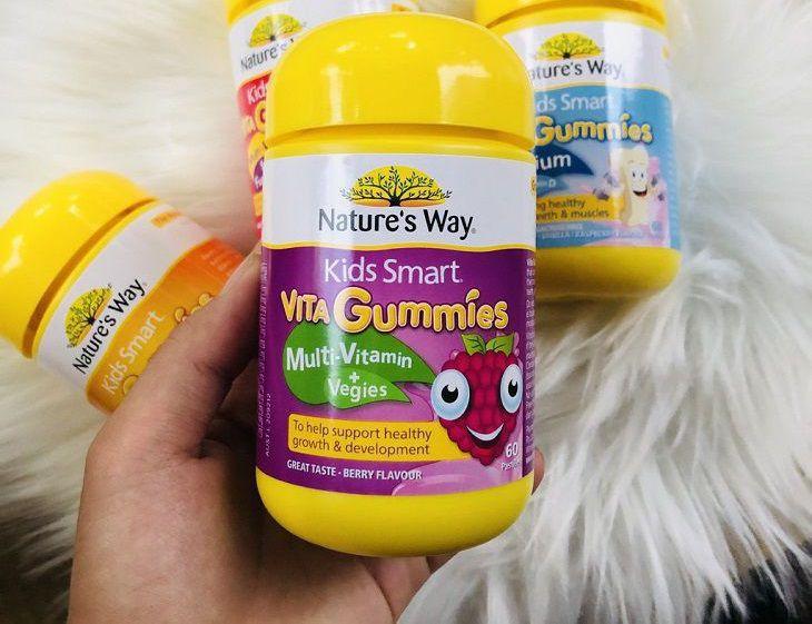 Giới thiệu kẹo dẻo Nature's Way Vita Gummies Multivitamin - Vegies