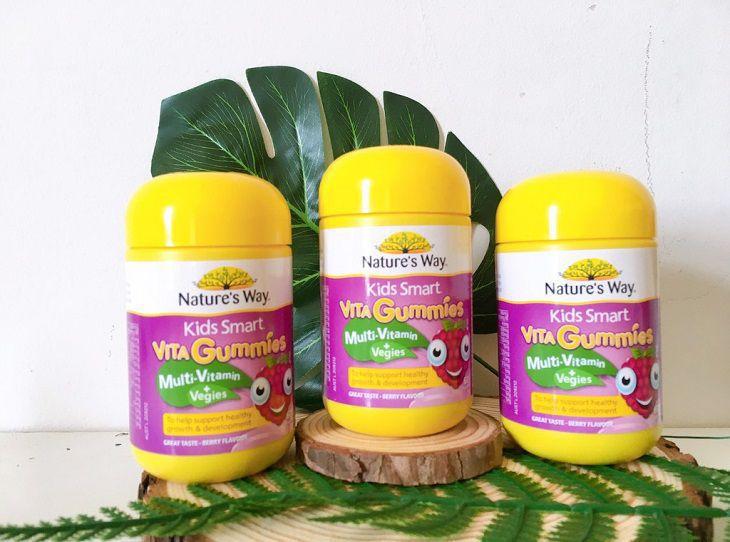 Giải đáp thắc mắc về Nature's Way Vita Gummies Multivitamin - Vegies