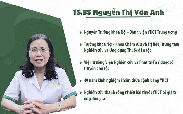 TS. BS Nguyễn Thị Vân Anh