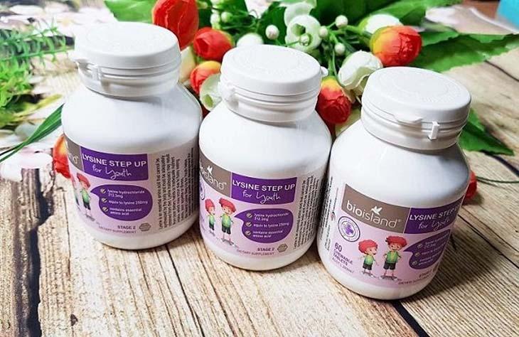 Bio island lysine starter - dạng viên giúp tăng cường chiều cao cho trẻ