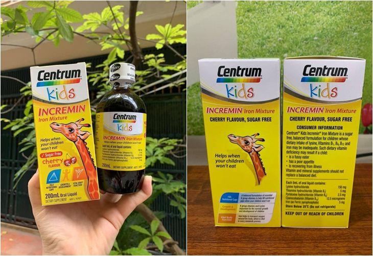 Sản phẩm giúp bổ sung dưỡng chất giúp trẻ ăn uống ngon miệng