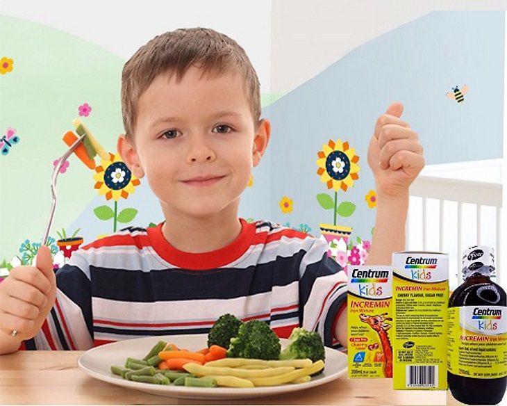 Centrum Kid giúp trẻ ăn ngon miệng hơn
