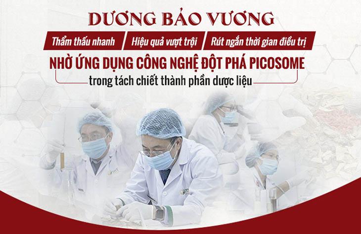 Nâng cao hiệu quả điều trị với công nghệ tách chiết dược liệu Picosome