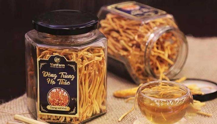 Đông trùng hạ thảo Đà Nẵng có dịch vụ giao hàng từ Vietfarm