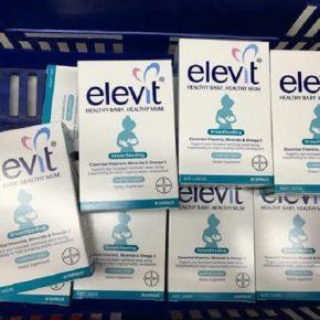 Phân biệt bao bì sản phẩm mới của viên uống Elevit Breastfeeding