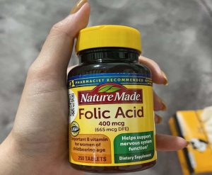 Viên uống Folic Acid 400mcg dành cho mẹ bầu có tốt không? Mua ở đâu, giá bán bao nhiêu?