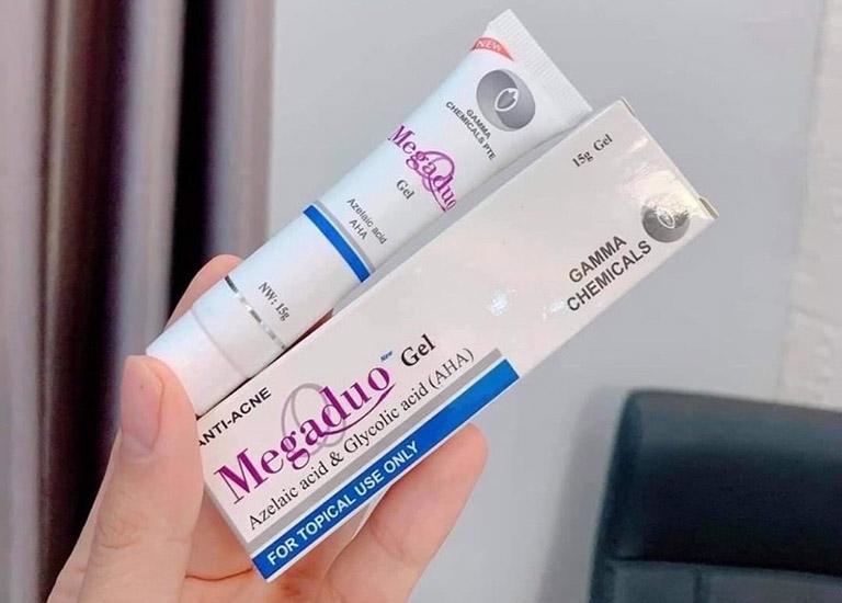Thành phần dược tính trong kem Megaduo có khả năng cải thiện tình trạng mụn trên da khá tốt