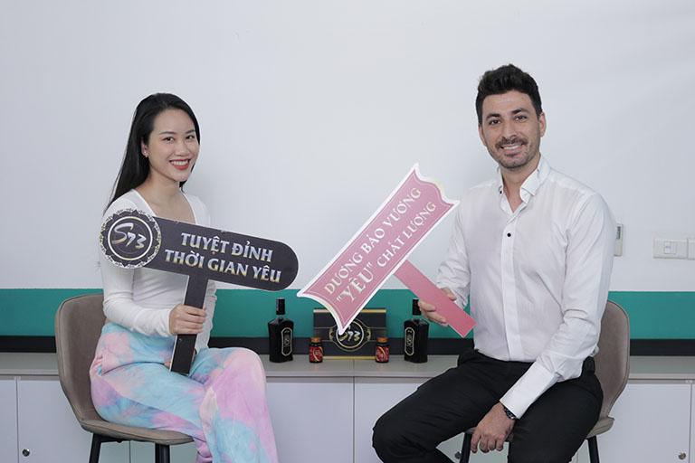 Cặp đôi gái Việt trai Tây chị Huế Nguyễn và anh Hamid Reza