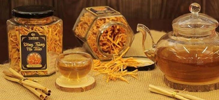 Đông trùng hạ thảo Vietfarm phân phối các sản phẩm của đông trùng hạ thảo rất uy tín