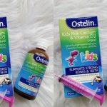 Review Ostelin Kid Milk Calcium & Vitamin D3 Liquid 90ml: Thành phần, công dụng và giá bán hiện nay