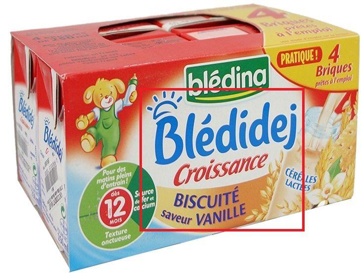 Tất cả thông tin trên bao bì sản phẩm đều bằng tiếng Pháp