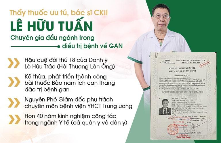 Tiểu sử bác sĩ Lê Hữu Tuấn