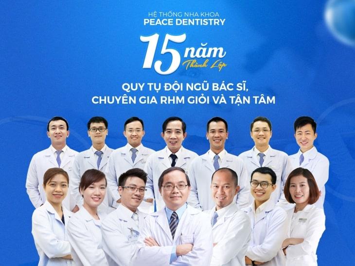 Peace Dentistry đã có 15 năm hình thành, phát triển