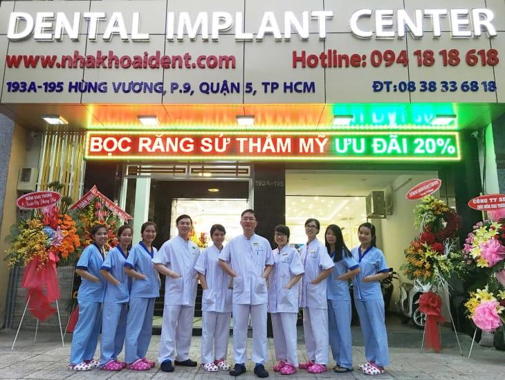 Nha khoa I-dent ứng dụng công nghệ trồng răng Implant được chuyển giao trực tiếp từ Pháp