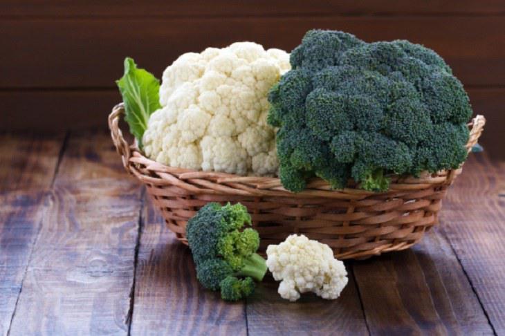 Người bệnh nên ăn nhiều bông cải xanh, bông cải trắng